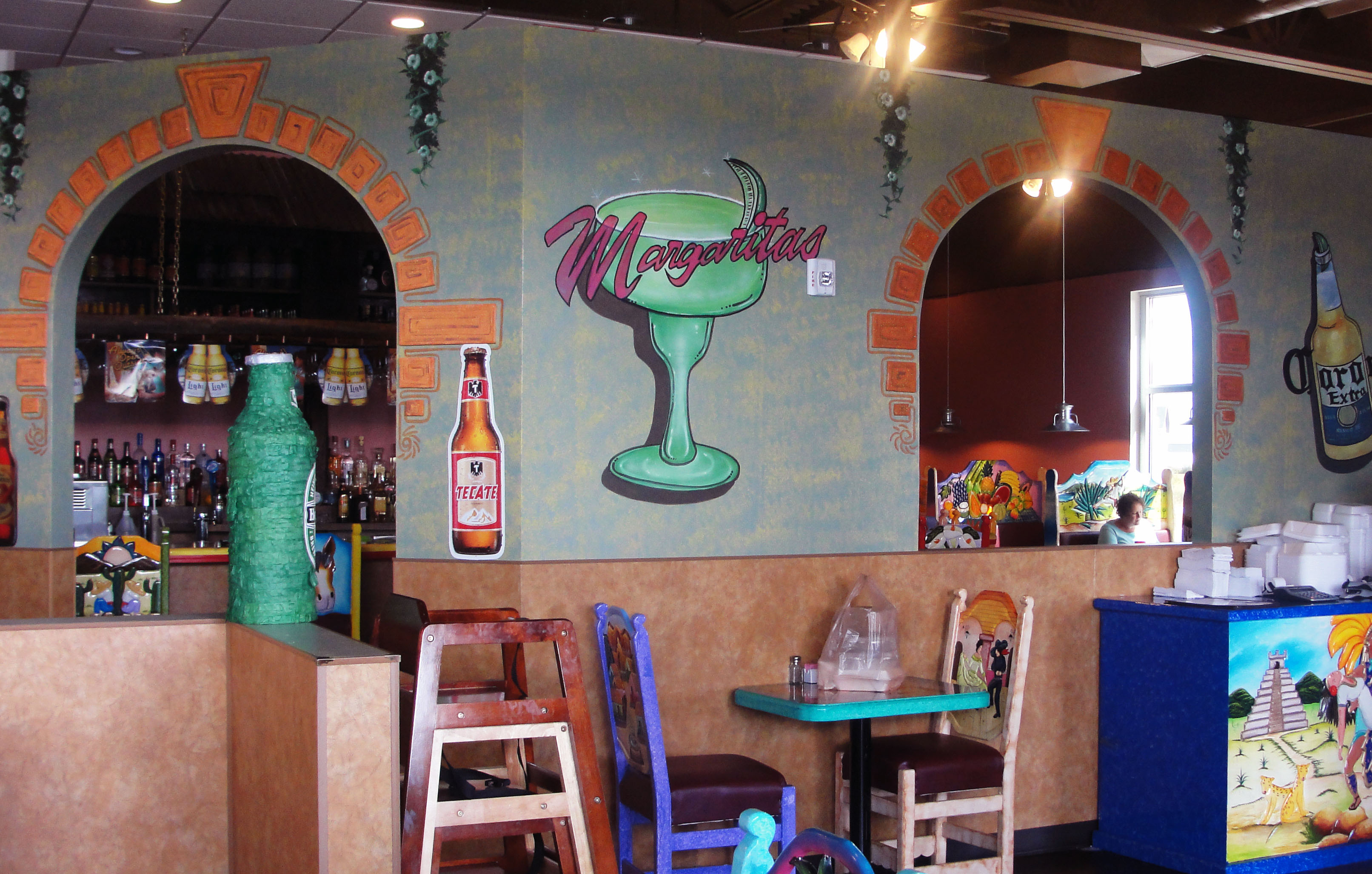 Mexican Restaurant Decor los aztecas mexican restaurant: pretty, average | grand central