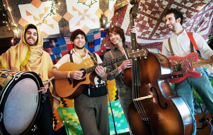 Mount Pleasant's own Joe Hertler and the Rainbow Seekers - Photo by Absolute Michigan