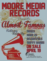 "Moore Media Records' ""Almost Famous"""