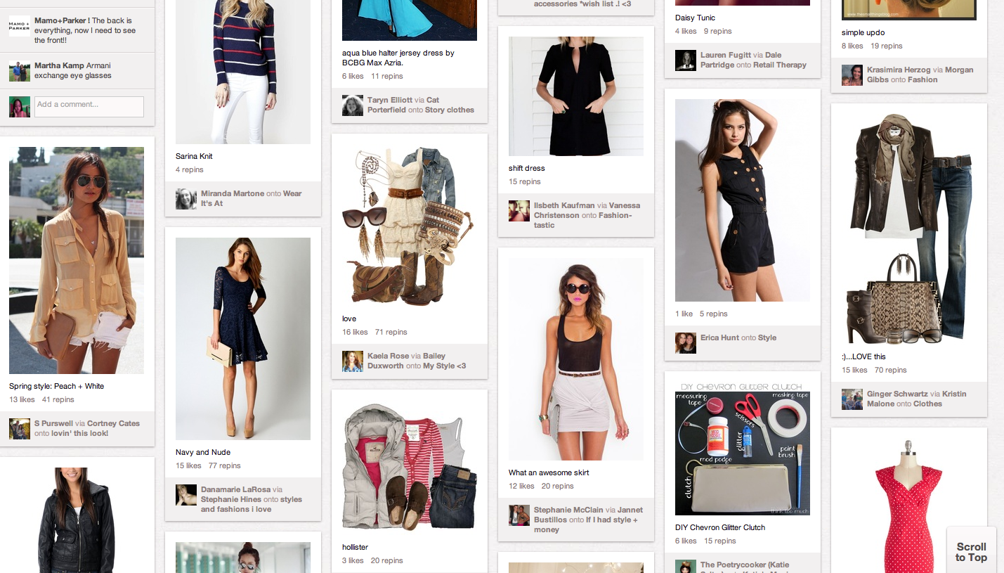 Pinterest A Fashion Stylebook Grand Central Magazine Your Campus Your Story