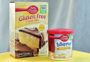 Companies like Betty Crocker offer many gluten free dessert choices. (Photo courtesy of Betty Crocker.com)