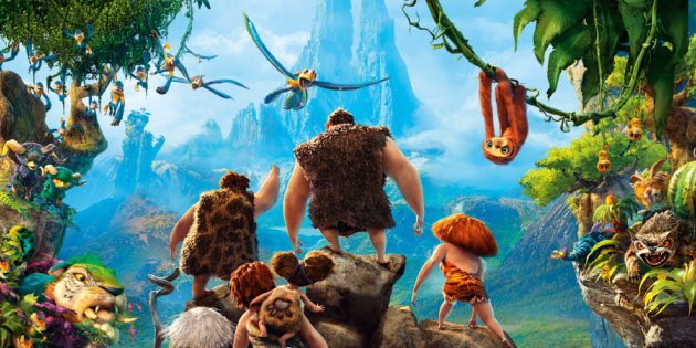 eca606508d297 Movie Review   The Croods  overcomes prehistoric clichés