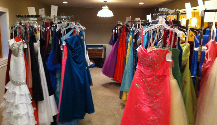 Dance Again Allows Students To Sell And Buy Formal Dresses Grand