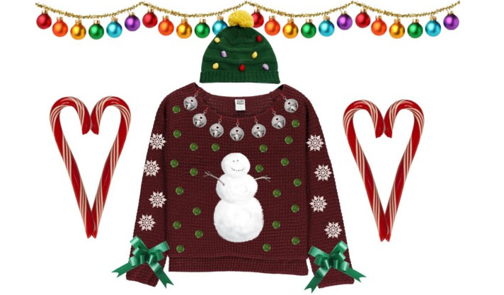 Make your own ugly Christmas sweater. (Photo Illustration | Laura DuCharme