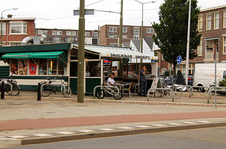 Snackbar Snoopy, Scheveningen, The Hague (Photo | Ben Harris)
