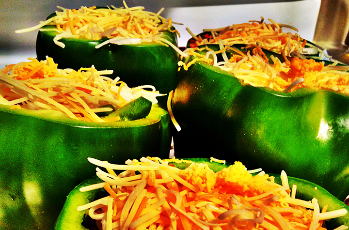 Stuffed peppers can be a great meal for those who enjoy sweet and spicy foods. (Photo | Dennis Julius)