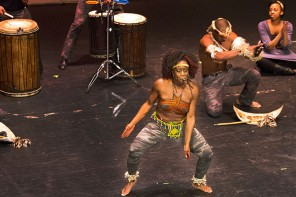 Gallery: Step Afika performs as part of Black History Month