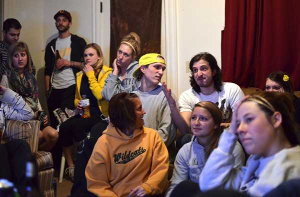 Friends gathered together to watch the NCAA men's basketball tournament last spring. (Photo | Danielle Duval)