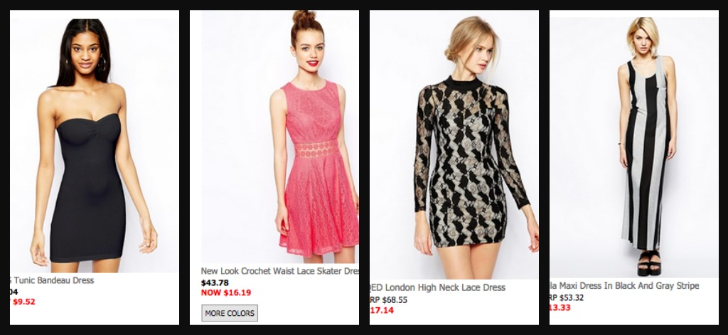 Asos clothing store