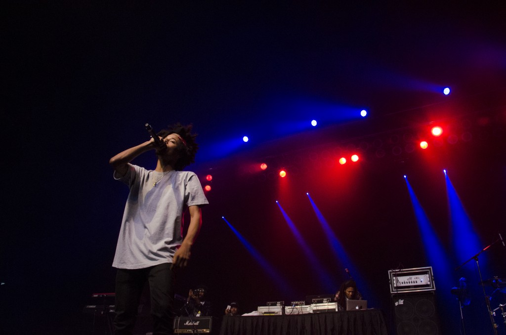 Curtis Williams of Two-9 opens for Ludacris at McGuirk Arena. (Photo   Claire Abendroth)
