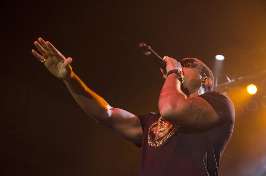 Ludacris performs for Central Michigan University students at McGuirk Arena. (Photo | Claire Abendroth)