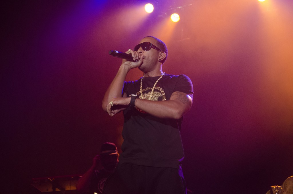 Ludacris puts on a show for those in attendance. (Photo | Claire Abendroth)