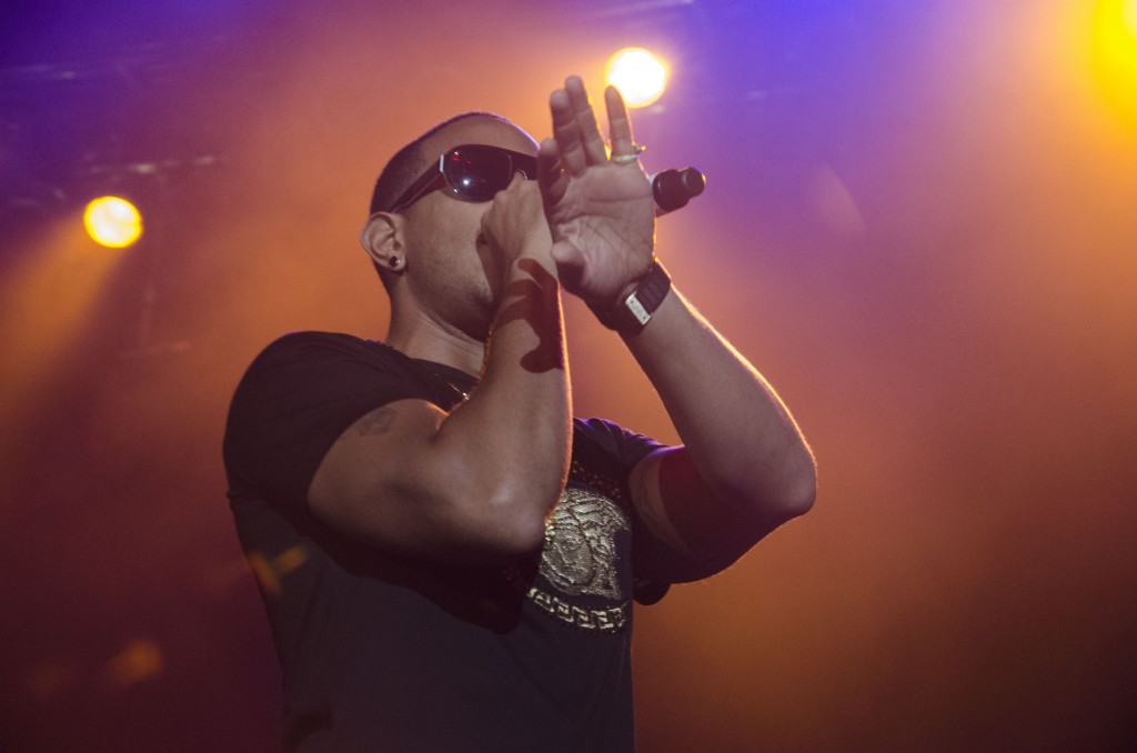 Ludacris performs at McGuirk Arena. (Photo | Claire Abendroth)