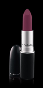Mac Cosmetics Satin finish lipstick, Rebel $16.