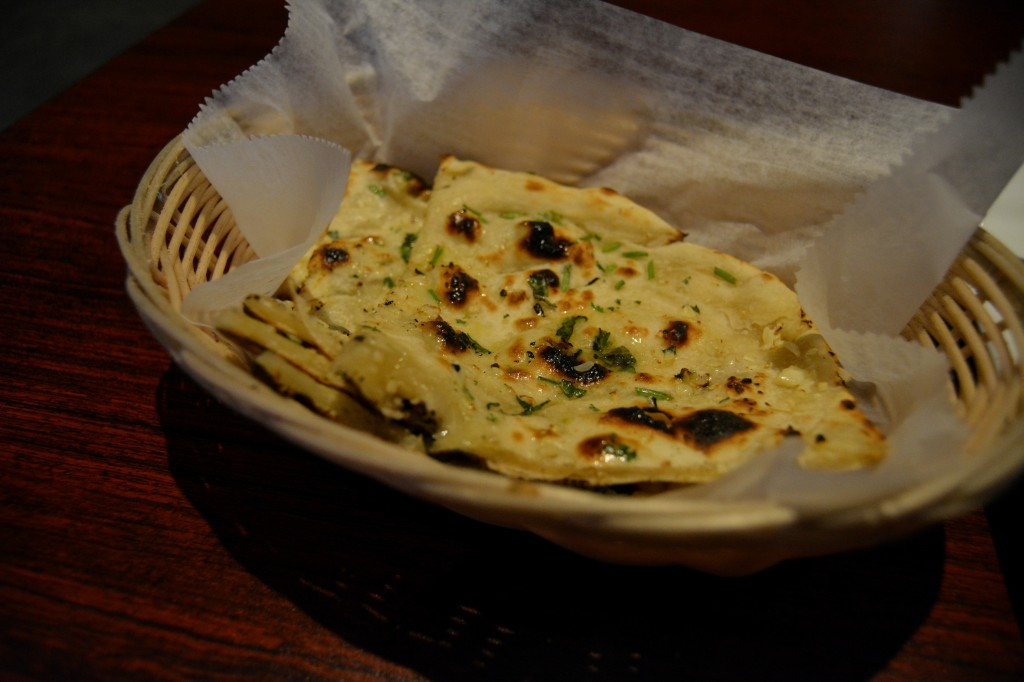 Naan is a traditional Indian dish and Bombay Grill overs many variations of the bread. (Photo | Andrea Henk)
