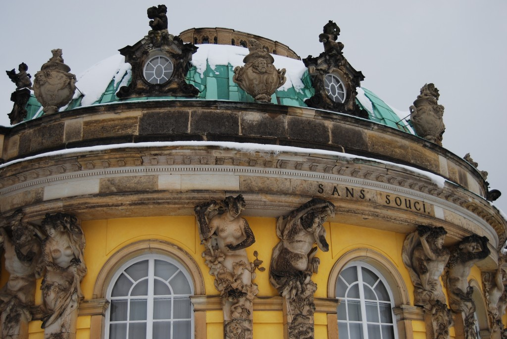 Schloss Sanssouci is the former summer residence of Frederick the Great, King of Prussia. (Photo | Andrea Henk)