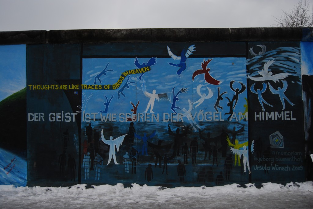East Side Gallery in Berlin, Germany is a sight to see. (Photo | Andrea Henk)