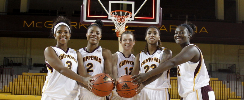The Chippewas defeated the University of Massachusetts Minutewomen 72-70 during their season opener. (Photo | Courtesy of cmuchippewas.com)