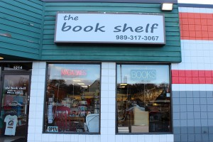 The Book Shelf is located at 1014 S. Mission St., Mount Pleasant, Mich. (Photo | Ashley Stamos)
