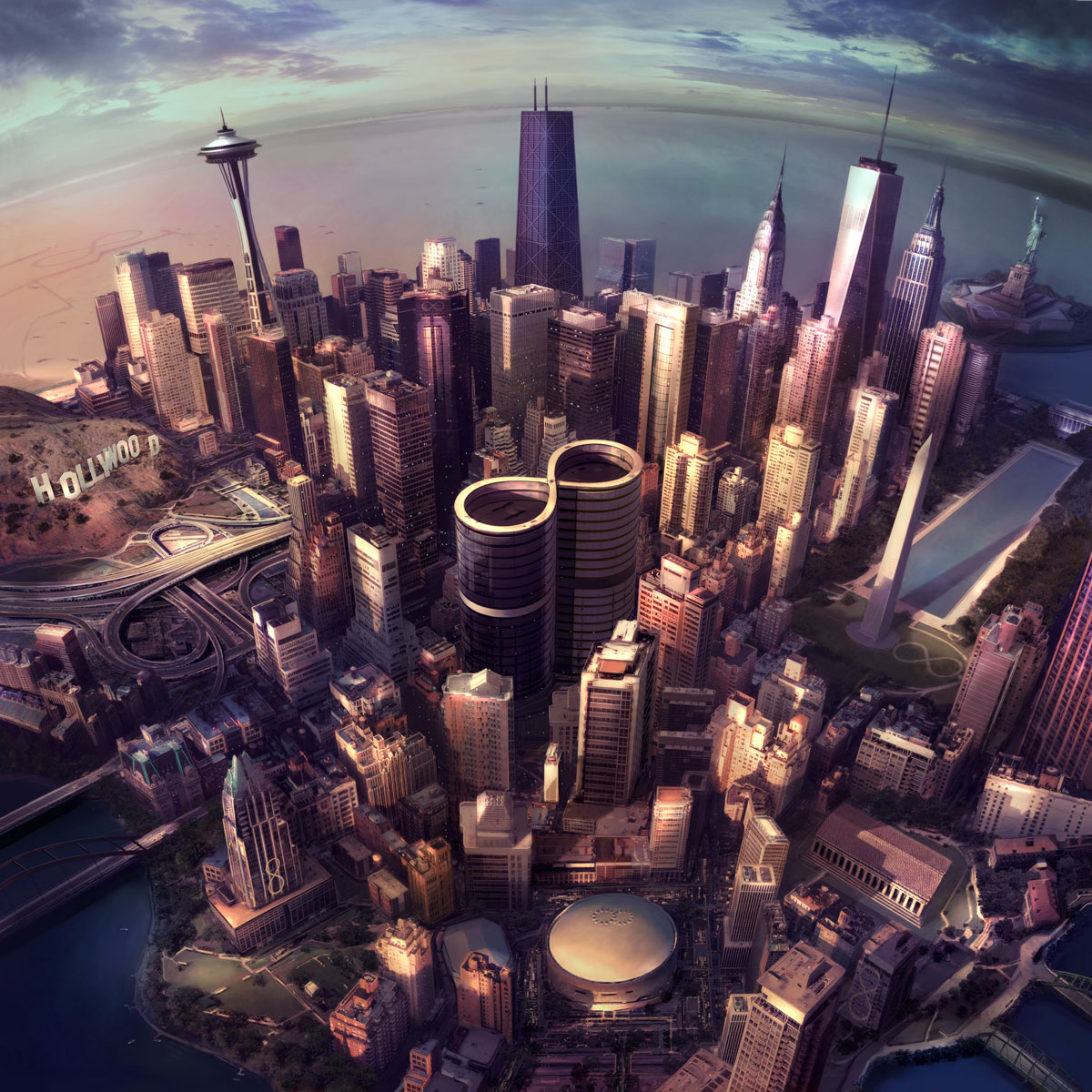 (Album Cover | Foo Fighters Official Website)