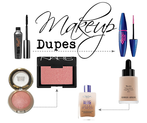 b6995a279 Beauty Report: The Best Makeup Dupes   Grand Central Magazine   Your ...