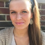 CMU sophomore Ashley Moyers wears a soft pink lip color. (Photo I Colleen Dluzynski)