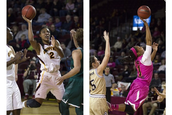 The Central Michigan University women's basketball team put up a tough fight this year, despite their setbacks. (Photos I Rich Drummond)