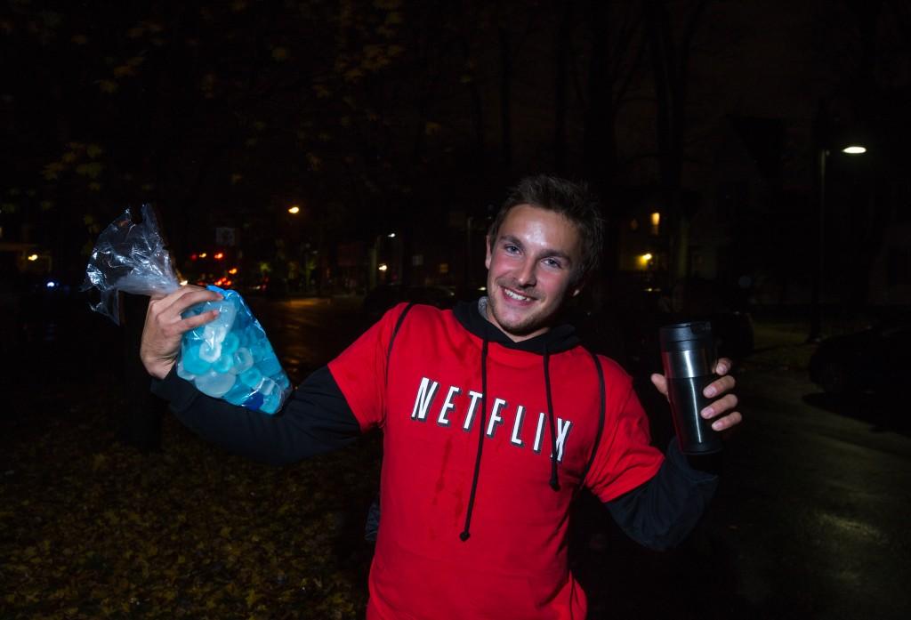 "Junior Brandonn Lentine as ""Netflix and Chill"". (Photo | Andraya Croft)"