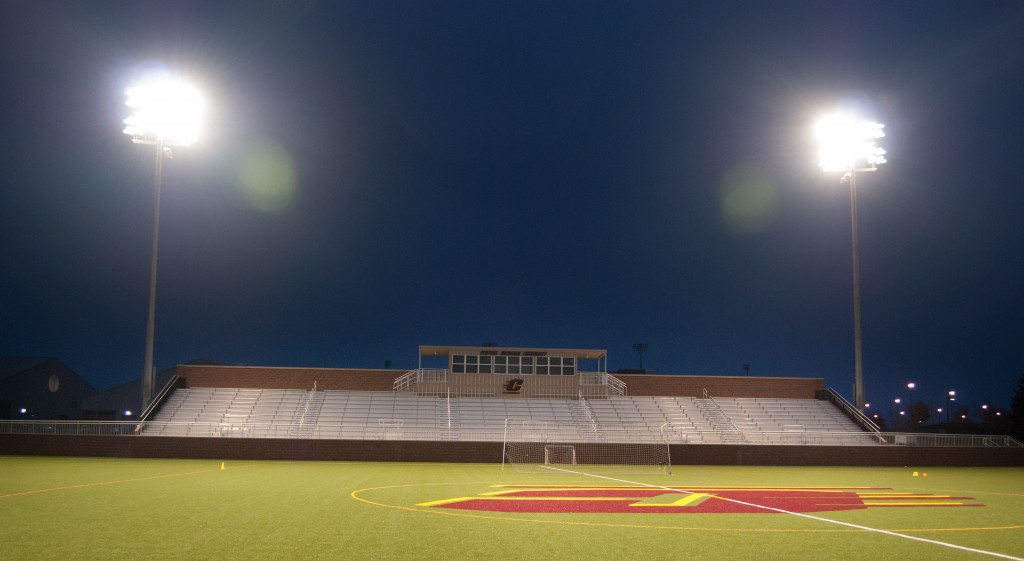 The facility has a new turf playing field complete with a lighting system that will allow for night games. Oct. 27, 2015 | Mary LaVictor