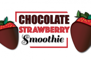 #SundaySwirl: Chocolate Strawberry Smoothie