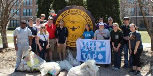 Students Participate in Earth Day Clean-Up