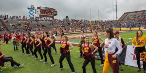 Recap: CMU Dance Team Performs at Homecoming Game