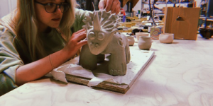 Studio Art Q&A: Grace Buerkel, Pottery Enthusiast