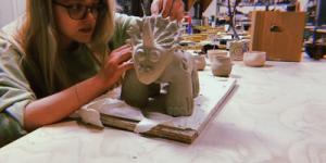 Studio Art Q&A: Grace Buerkel, Pottery Enthusiast